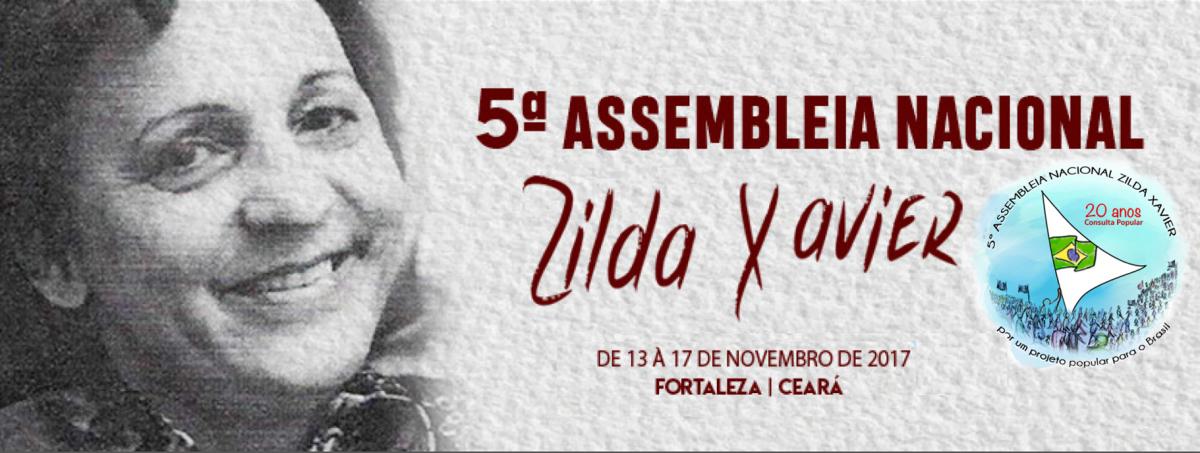 Consulta Popular organiza 5ª Assembleia Nacional 'Zilda Xavier'