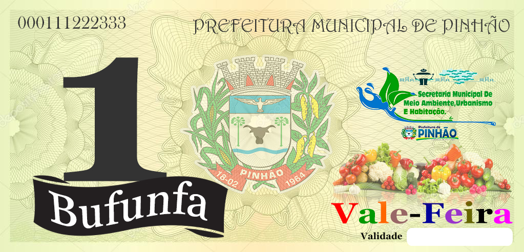 Município de Pinhão no Paraná cria Política do Vale Feira e fortalece a produção de alimentos saudáveis cuidando do Meio Ambiente